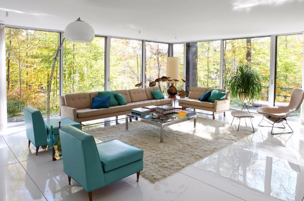 Lavish mid-century floor lamps for your living room-5