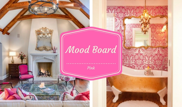 Mood Board The Ultimate Vintage Decor with Pink Shade (1)