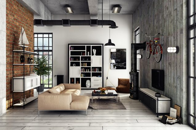 What's Hot on Pinterest 5 Industrial Lofts 4 industrial lofts What's Hot on Pinterest: 5 Industrial Lofts Whats Hot on Pinterest 5 Industrial Lofts 4