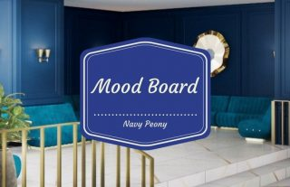 Mood Board The Best Pantone Fall Color with Navy Peony 4