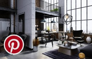 What's Hot on Pinterest Industrial Living Rooms to Inspire You FEAT