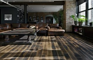How to use reclaimed wood in your industrial loft-5