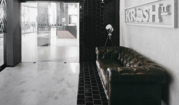 Krush-it A Dazzling Boutique Fitness Club with an Industrial Style FEAT industrial style Krush-it: A Dazzling Boutique Fitness Club with an Industrial Style Krush it A Dazzling Boutique Fitness Club with an Industrial Style FEAT