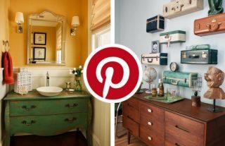 What's Hot on Pinterest 5 DIY Vintage Decorating Ideas 5
