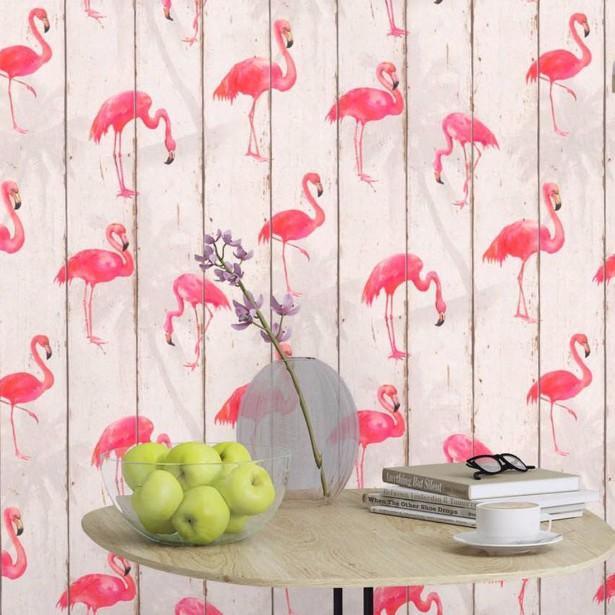 Vintage Style: Feel the Iconic Pink Flamingo