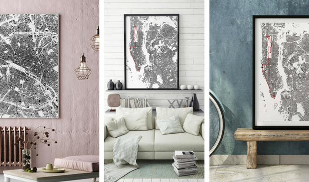 Check How Cycling Routes Make The Perfect Vintage Home Decor!
