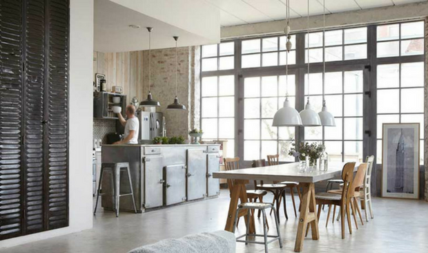 Discover this Industrial Romantic Home Style!