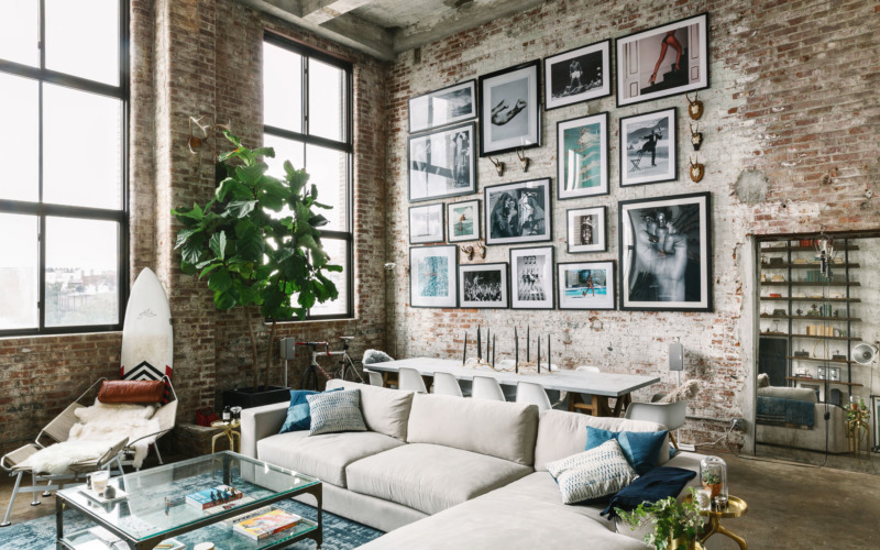 Appartement Style Loft New Yorkais. Trendy Jeremy Globersons New ...