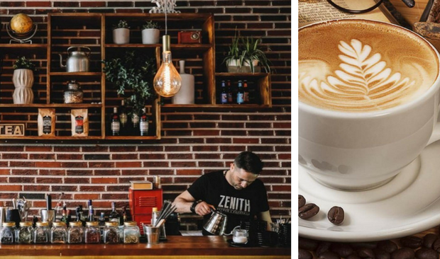 Brunch, Cocktails and Good Times in This Vintage Industrial Coffee Shop