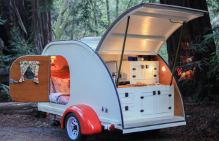 Get On An Adventure With This Vintage Teardrop Trailer!