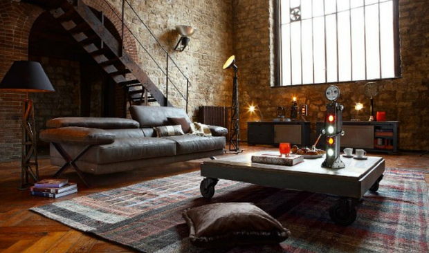 Get The Inspiration For Your Perfect Industrial Living Room!