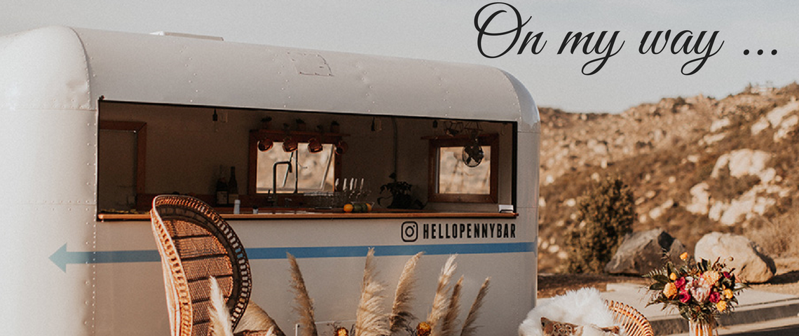 Hello Penny Bar: The Mobile Bar That Will Come To You!