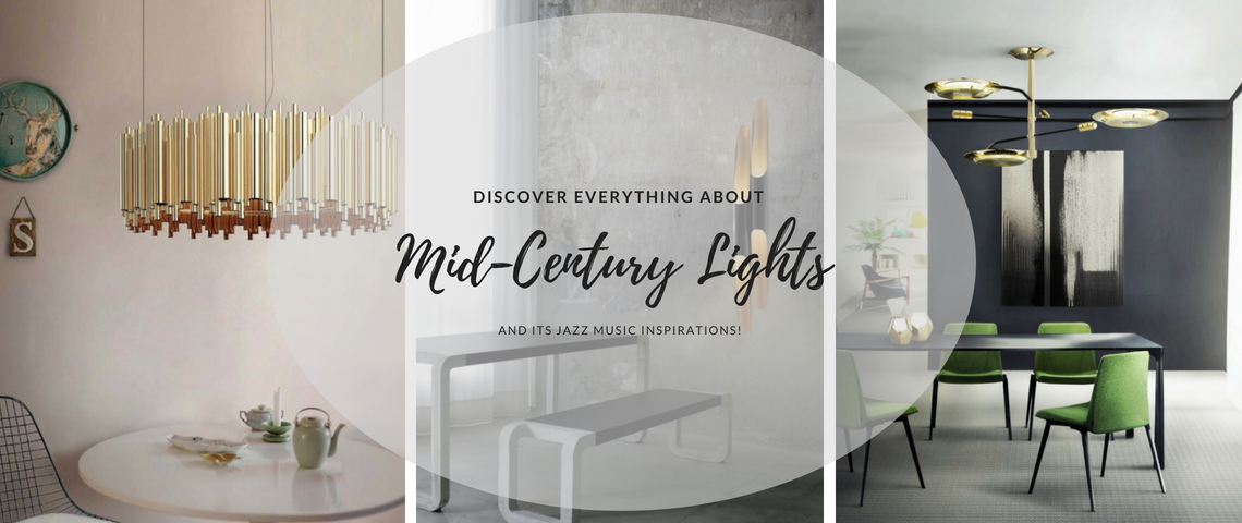 Mid Century Lighting: Jazz Inspired Pieces!