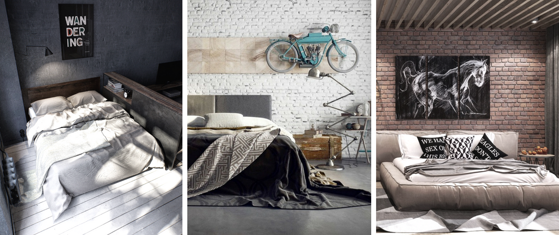 industrial bedroom How To Create The Perfect Industrial Bedroom Design capa 1140x480