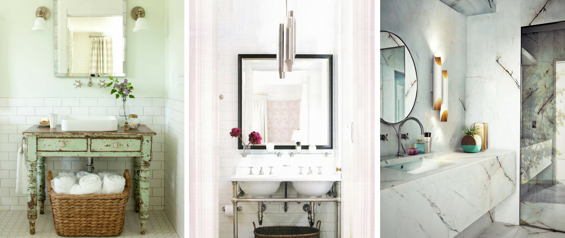 How To Choose The Perfect Lighting Fixture For Your Vintage Bathroom!