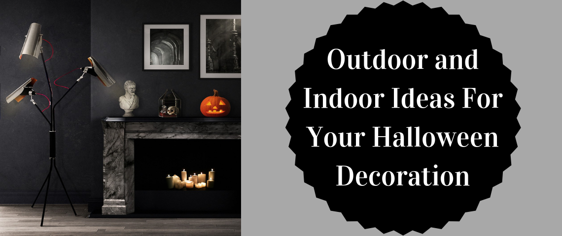 Outdoor and Indoor Ideas For Your Halloween Decoration