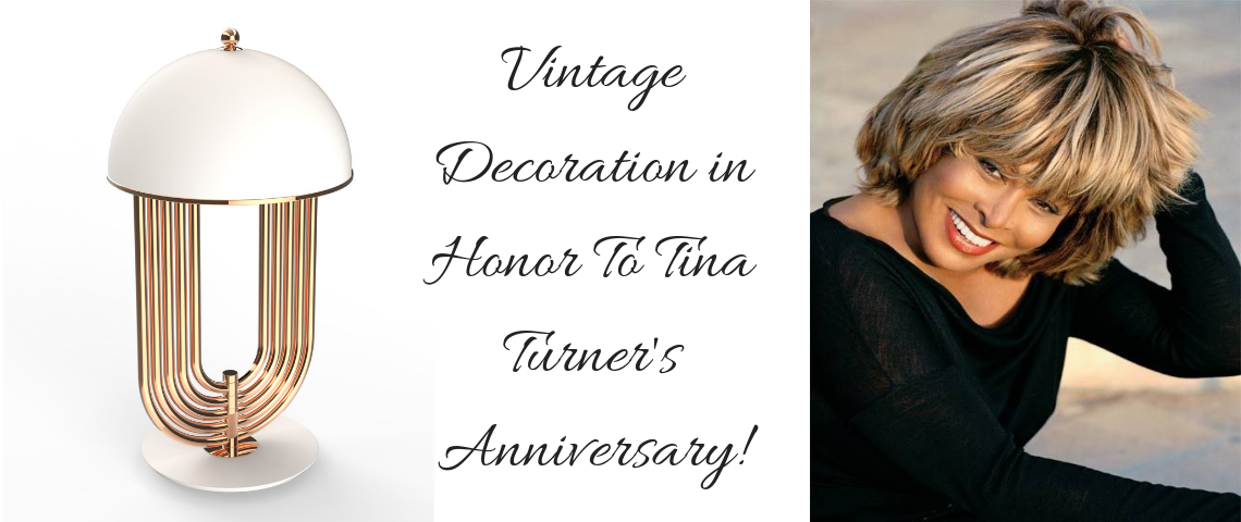 Vintage Decoration in Honor To Tina Turner's Anniversary!
