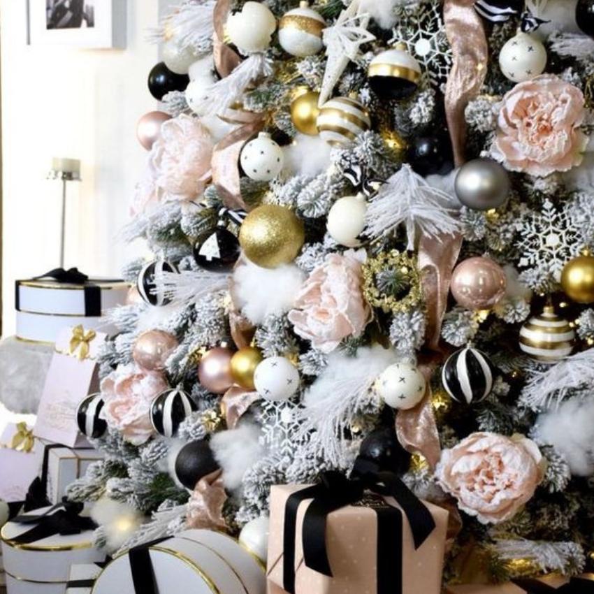 What't Hot On Pinterest 5 White Christmas Decor Tips (4) white christmas decor What't Hot On Pinterest: 5 White Christmas Decor Tips Whatt Hot On Pinterest 5 White Christmas Decor Tips 4