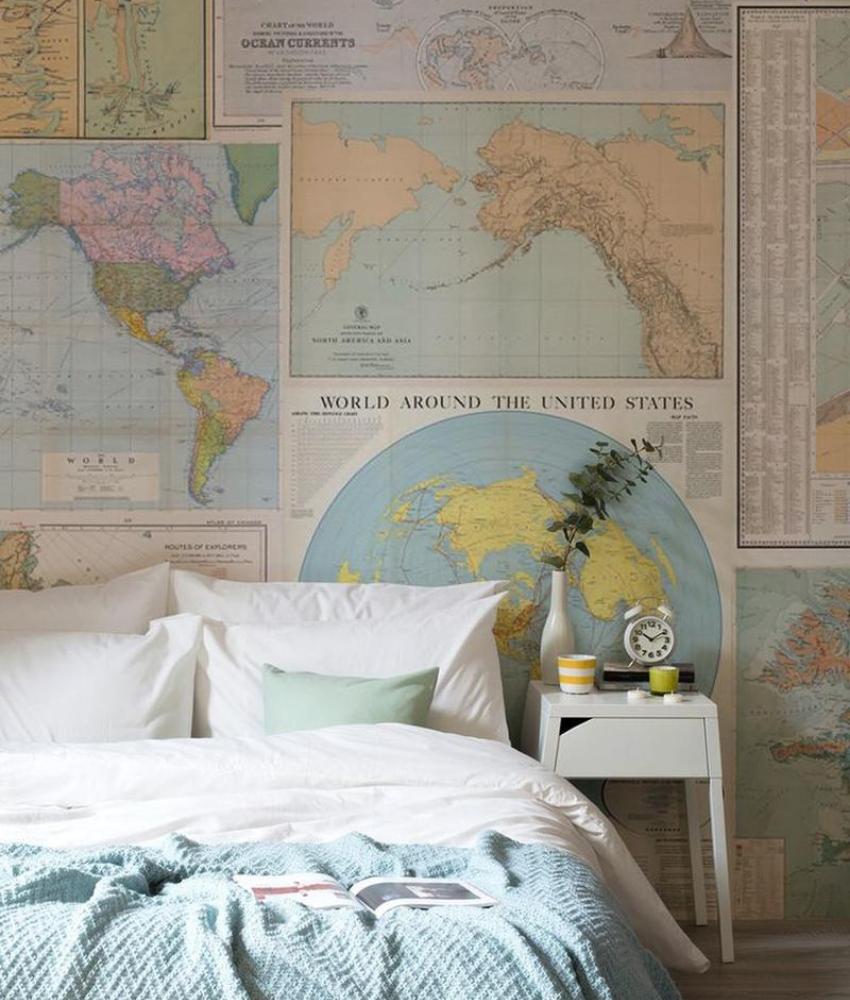 Home Décor_ Vintage Bedroom Decoration (5)