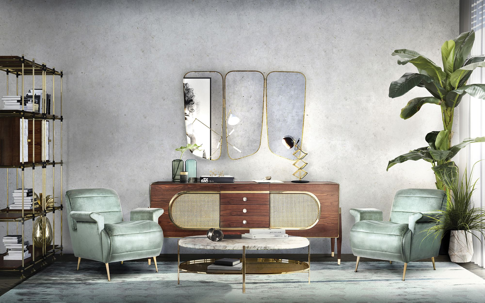 Steal The Look: Sit Back and Relax in Your New Living Room Décor!