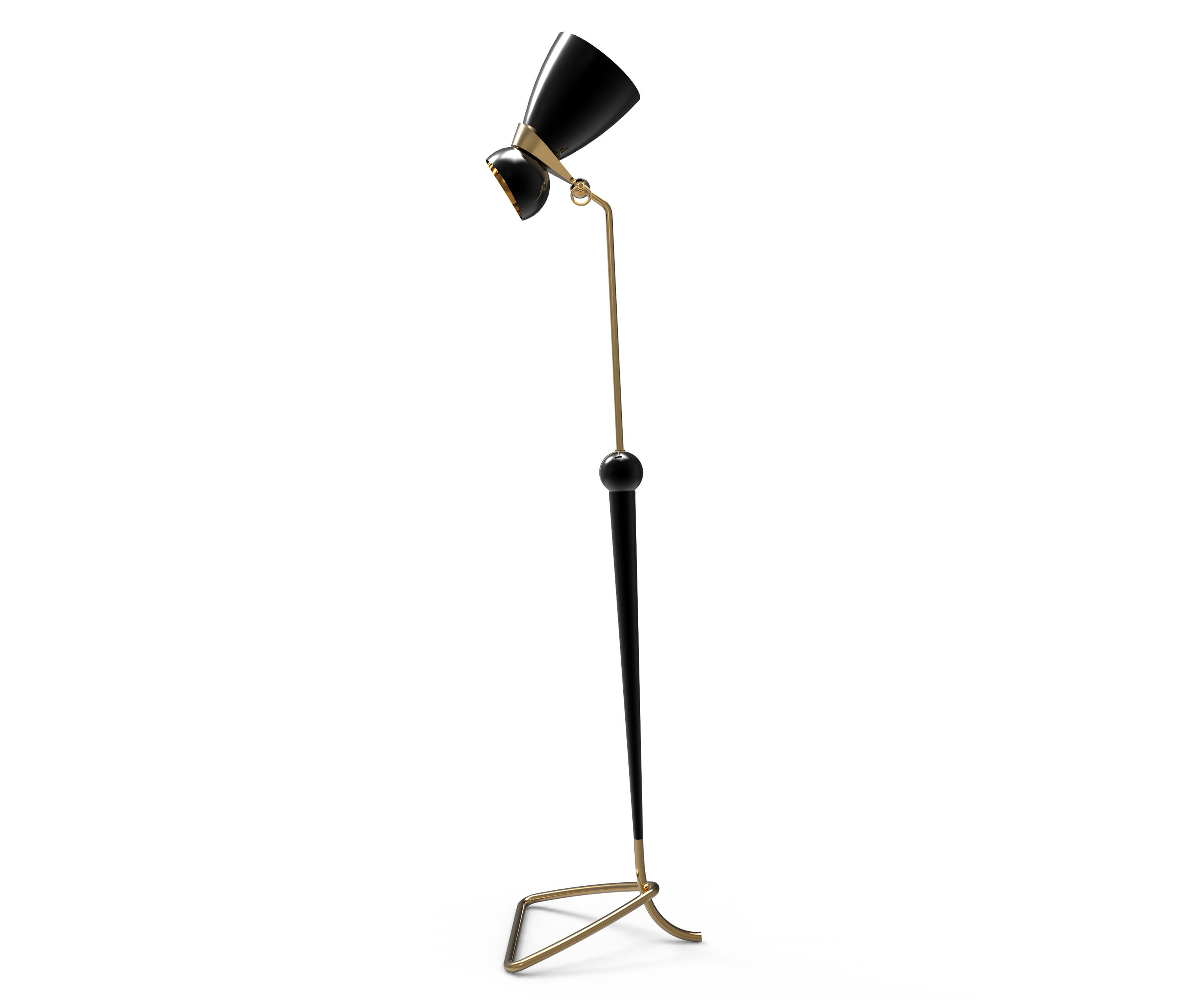 Summer Sales: This Vintage Floor Lamp Has To Be Yours! vintage floor lamp Open Floor Plan: This Vintage Floor Lamp Has To Be Yours! 1 4