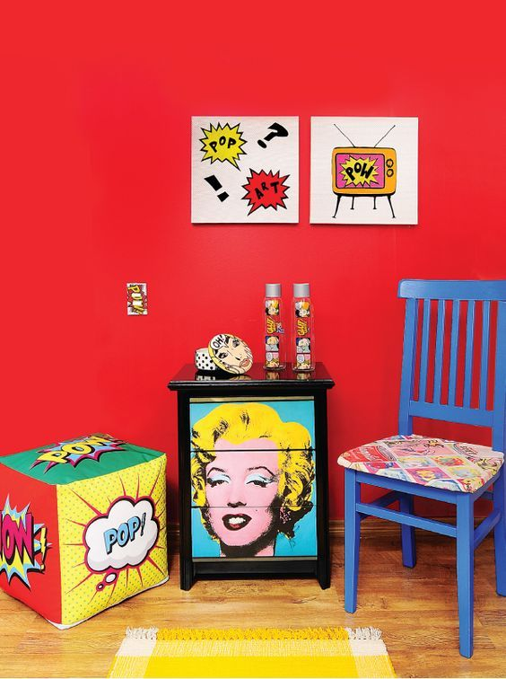 What is Hot on Pinterest: Pop Art Home Décor! pop art home décor What is Hot on Pinterest: Pop Art Home Décor! 5 3