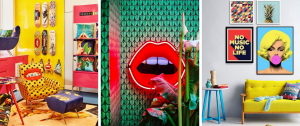 What is Hot on Pinterest: Pop Art Home Décor!