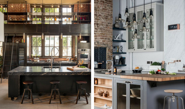 Wonderful Industrial Home Interior Design Gallery - Best idea home ...